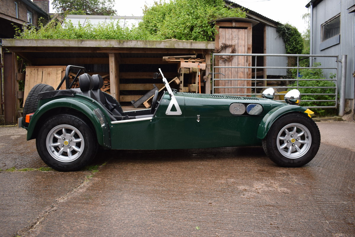 "2002 Caterham Seven Classic ""Beaulieu"" Ltd Edition SOLD (picture 2 of 6)"
