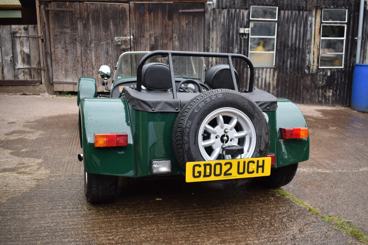 "2002 Caterham Seven Classic ""Beaulieu"" Ltd Edition SOLD (picture 3 of 6)"