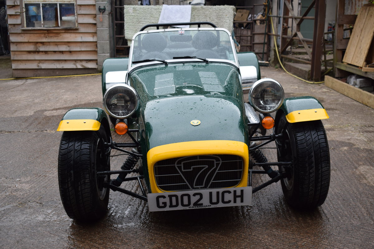 "2002 Caterham Seven Classic ""Beaulieu"" Ltd Edition SOLD (picture 4 of 6)"