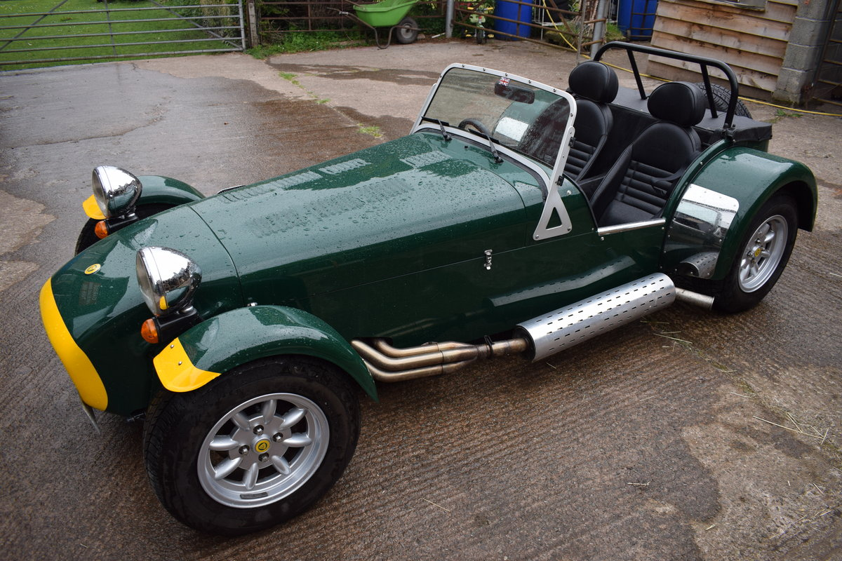 "2002 Caterham Seven Classic ""Beaulieu"" Ltd Edition SOLD (picture 5 of 6)"