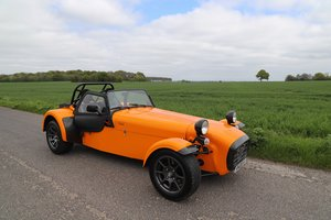 Caterham R400 Superlight, 2004. Ballistic Orange.