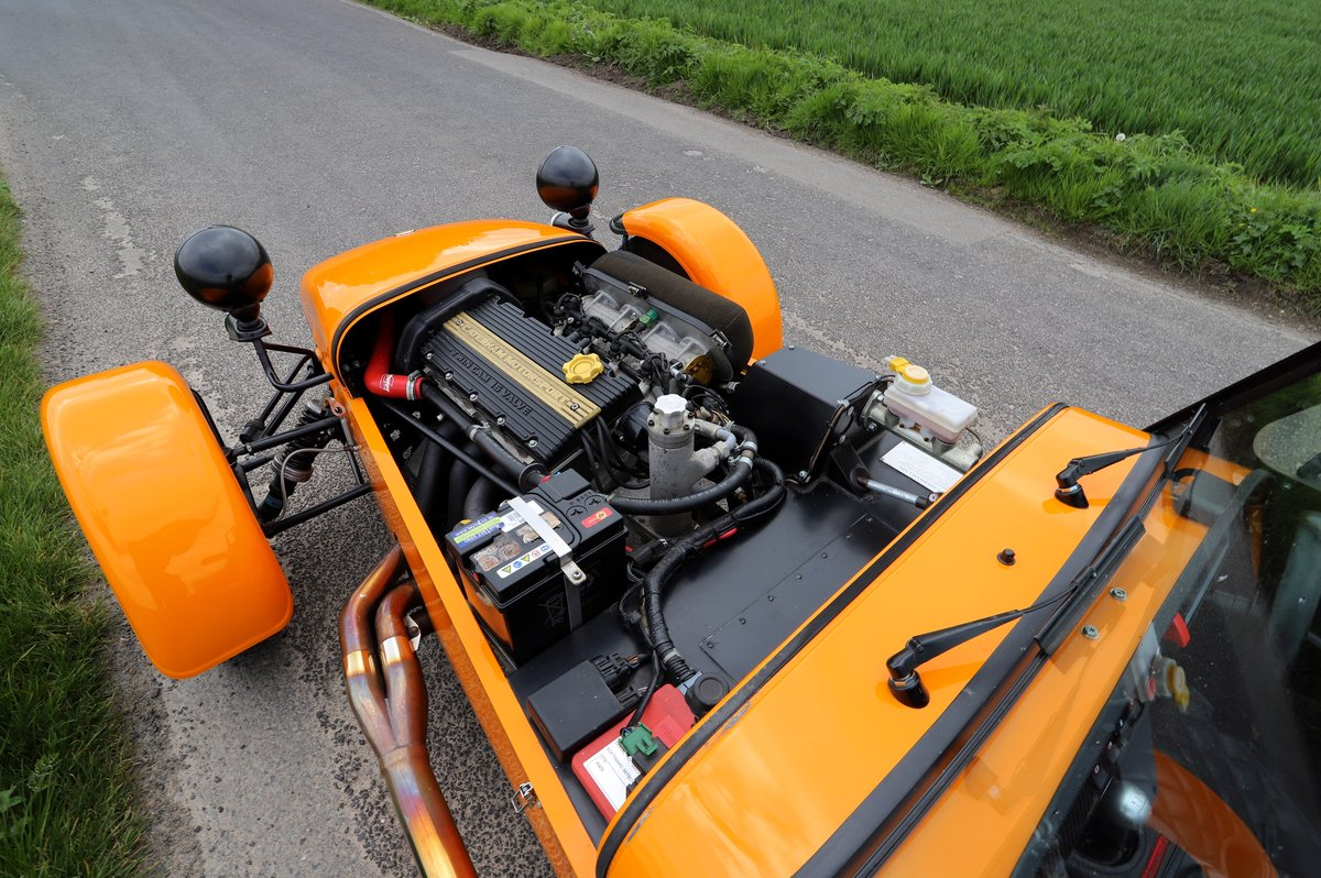 Caterham R400 Superlight, 2004. Ballistic Orange. For Sale (picture 6 of 6)