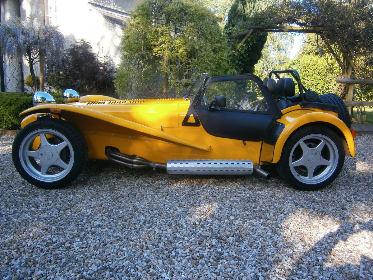 1997 CATERHAM SUPER 7 1600 SUPERSPORT 6 SPEED 1 OWNER 7218 MILES  For Sale (picture 1 of 6)