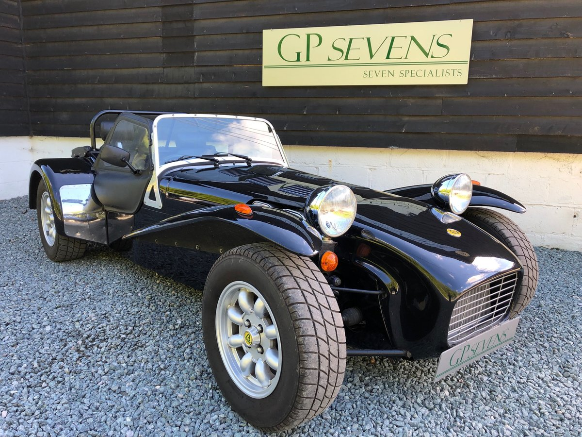 1995 Caterham Classic Supersprint 1.7 Ford 135bhp 5 speed 1 owner SOLD (picture 1 of 6)