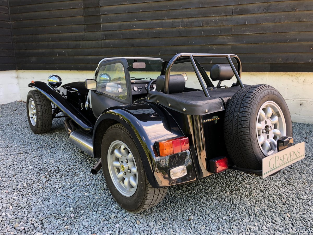 1995 Caterham Classic Supersprint 1.7 Ford 135bhp 5 speed 1 owner SOLD (picture 2 of 6)