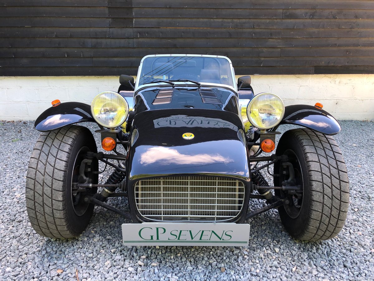 1995 Caterham Classic Supersprint 1.7 Ford 135bhp 5 speed 1 owner SOLD (picture 3 of 6)