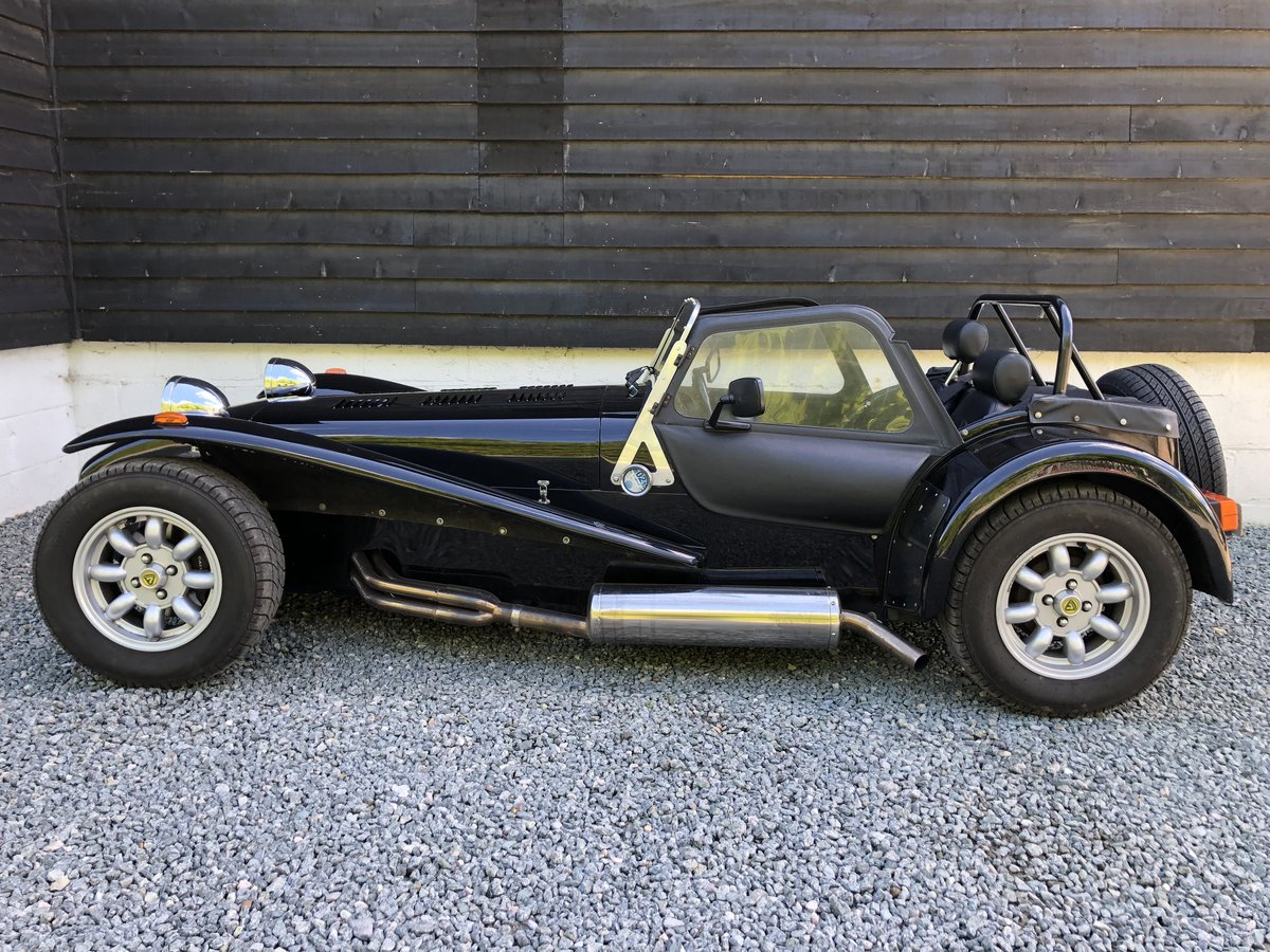 1995 Caterham Classic Supersprint 1.7 Ford 135bhp 5 speed 1 owner SOLD (picture 4 of 6)