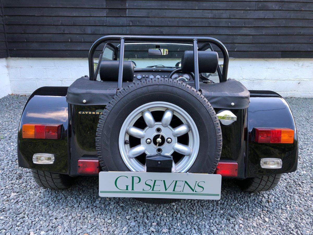 1995 Caterham Classic Supersprint 1.7 Ford 135bhp 5 speed 1 owner SOLD (picture 5 of 6)