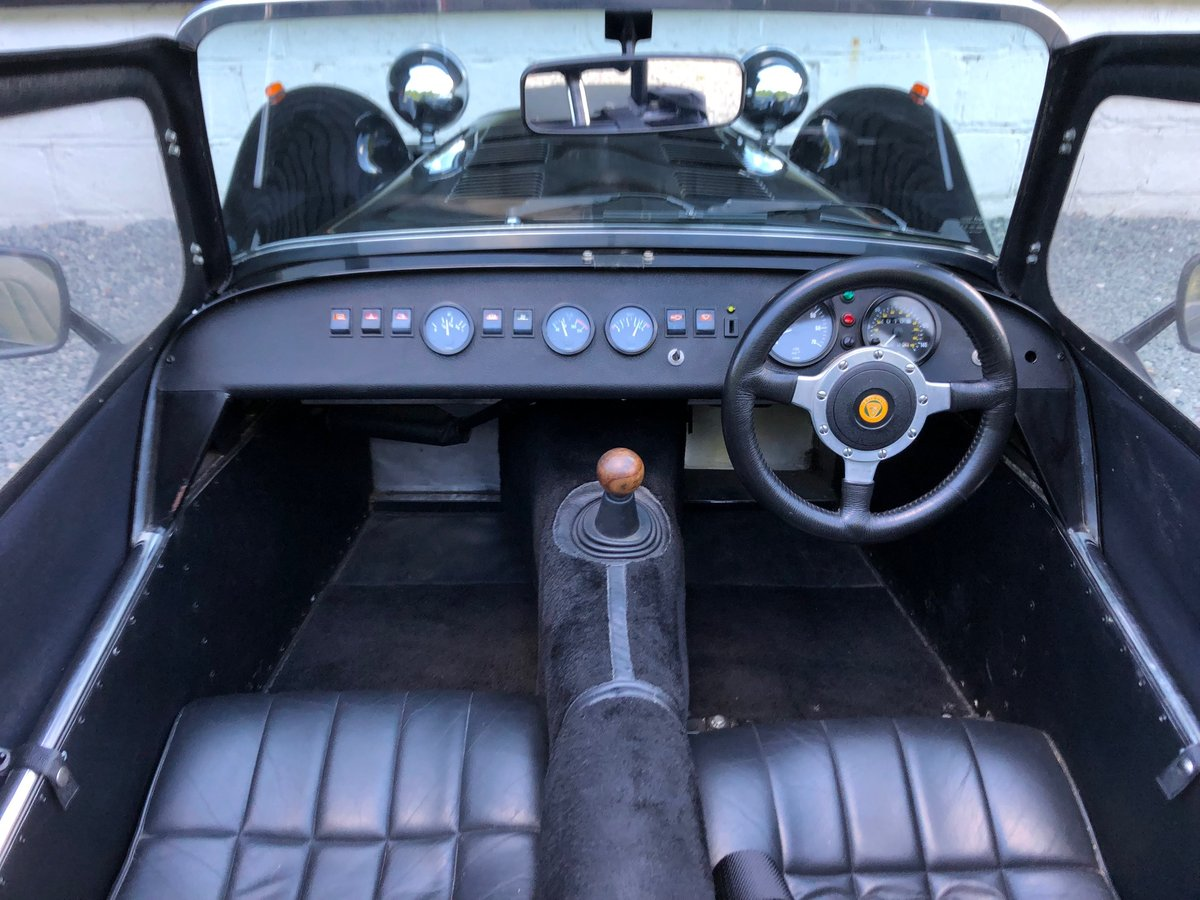 1995 Caterham Classic Supersprint 1.7 Ford 135bhp 5 speed 1 owner SOLD (picture 6 of 6)