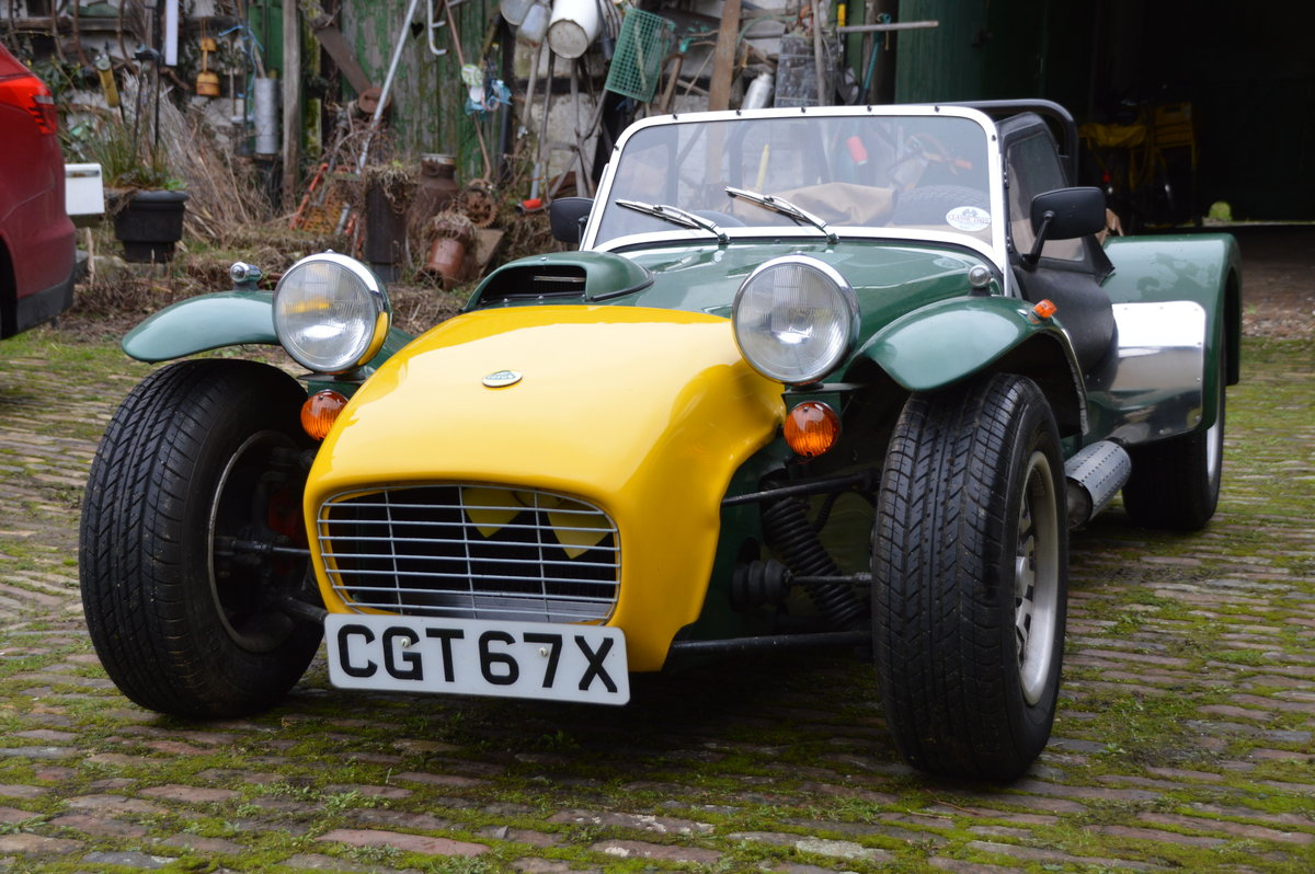 1981 Caterham Super Seven 1600GT SOLD (picture 1 of 6)