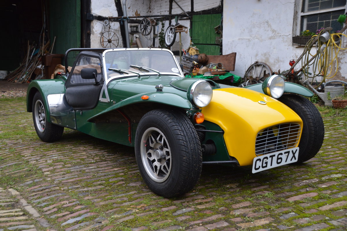 1981 Caterham Super Seven 1600GT SOLD (picture 2 of 6)