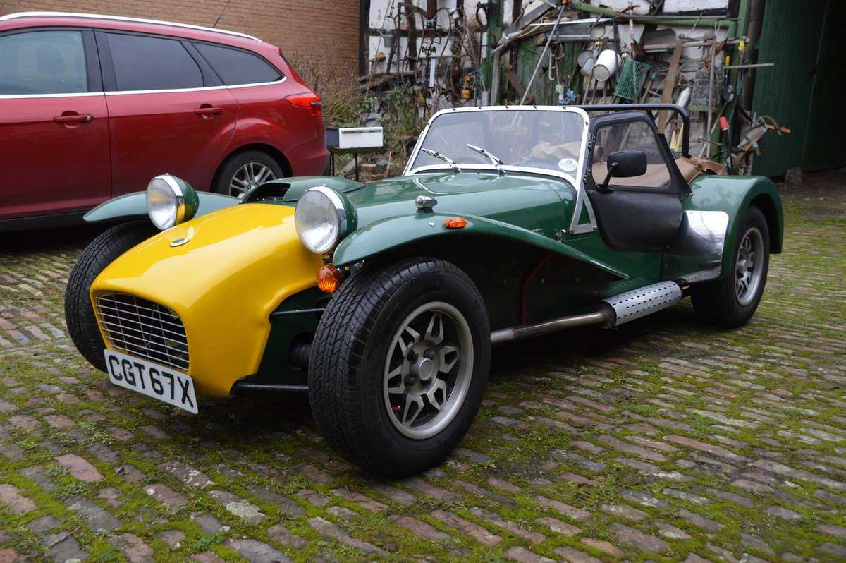 1981 Caterham Super Seven 1600GT SOLD (picture 3 of 6)