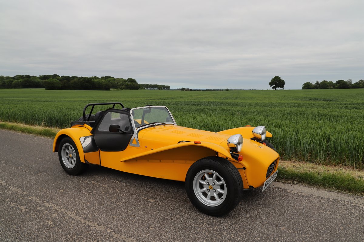 Caterham Seven 1.6 Classic, 1999.   Factory built.  For Sale (picture 1 of 6)
