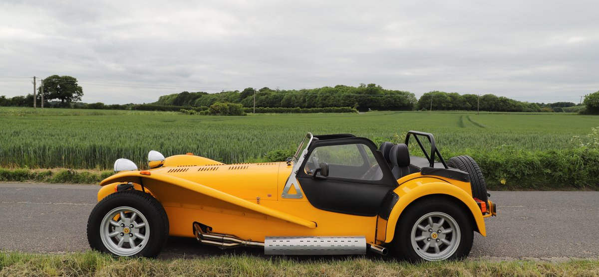 Caterham Seven 1.6 Classic, 1999.   Factory built.  For Sale (picture 2 of 6)