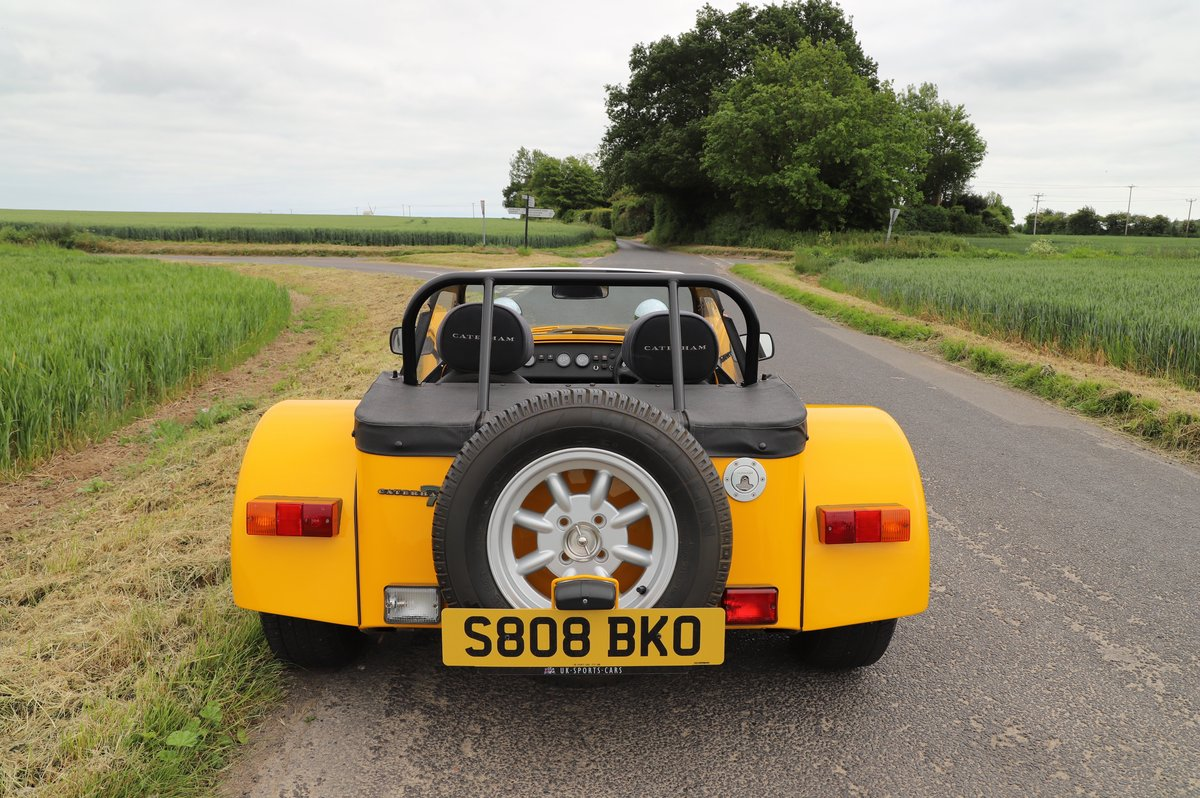 Caterham Seven 1.6 Classic, 1999.   Factory built.  For Sale (picture 3 of 6)