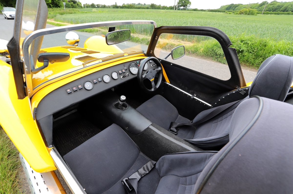 Caterham Seven 1.6 Classic, 1999.   Factory built.  For Sale (picture 5 of 6)
