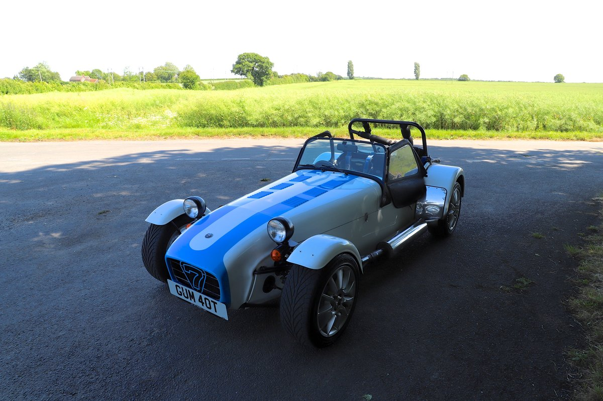 Caterham Super 7, 1991 (registered 1979 - GUM 40T), 2.0L 220 For Sale (picture 2 of 6)