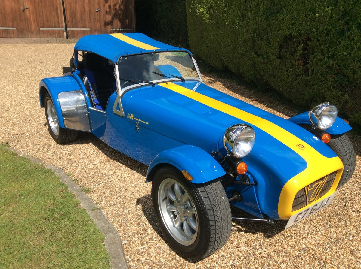 1999 Caterham 7 Roadsport 250 For Sale (picture 1 of 6)