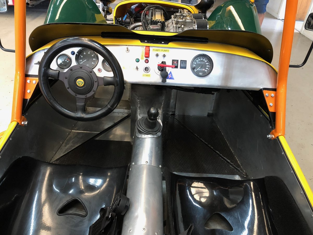 1987 Caterham Supersprint Low mileage Left Hand Drive For Sale (picture 2 of 6)