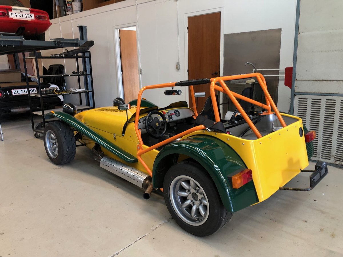 1987 Caterham Supersprint Low mileage Left Hand Drive For Sale (picture 4 of 6)