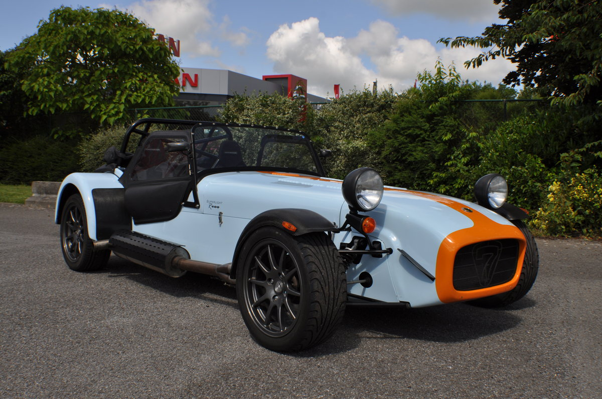 2009 Caterham R400 Seven SV LHD  For Sale (picture 1 of 6)
