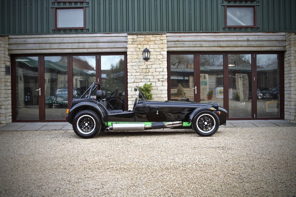 2017 Caterham 310S SV 1600, Black / Kawasaki Green Decals For Sale (picture 2 of 6)