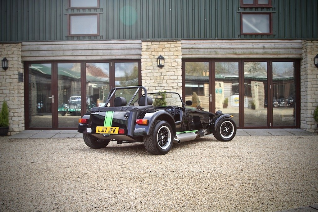 2017 Caterham 310S SV 1600, Black / Kawasaki Green Decals For Sale (picture 3 of 6)