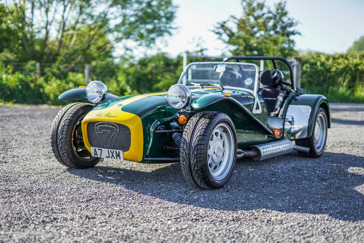 Caterham Seven Super Sprint Lotus 1800cc Ford Crossflow 1993 SOLD (picture 2 of 6)