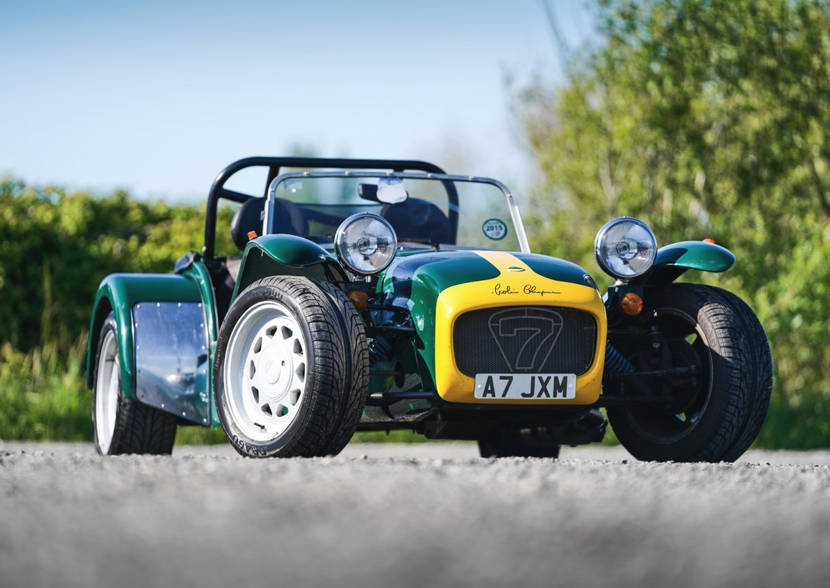 Caterham Seven Super Sprint Lotus 1800cc Ford Crossflow 1993 SOLD (picture 3 of 6)