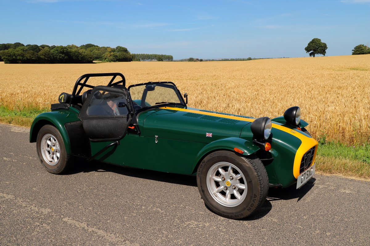 Caterham Seven 1600K Series, 5 Speed De Dion,  2004.  For Sale (picture 1 of 6)