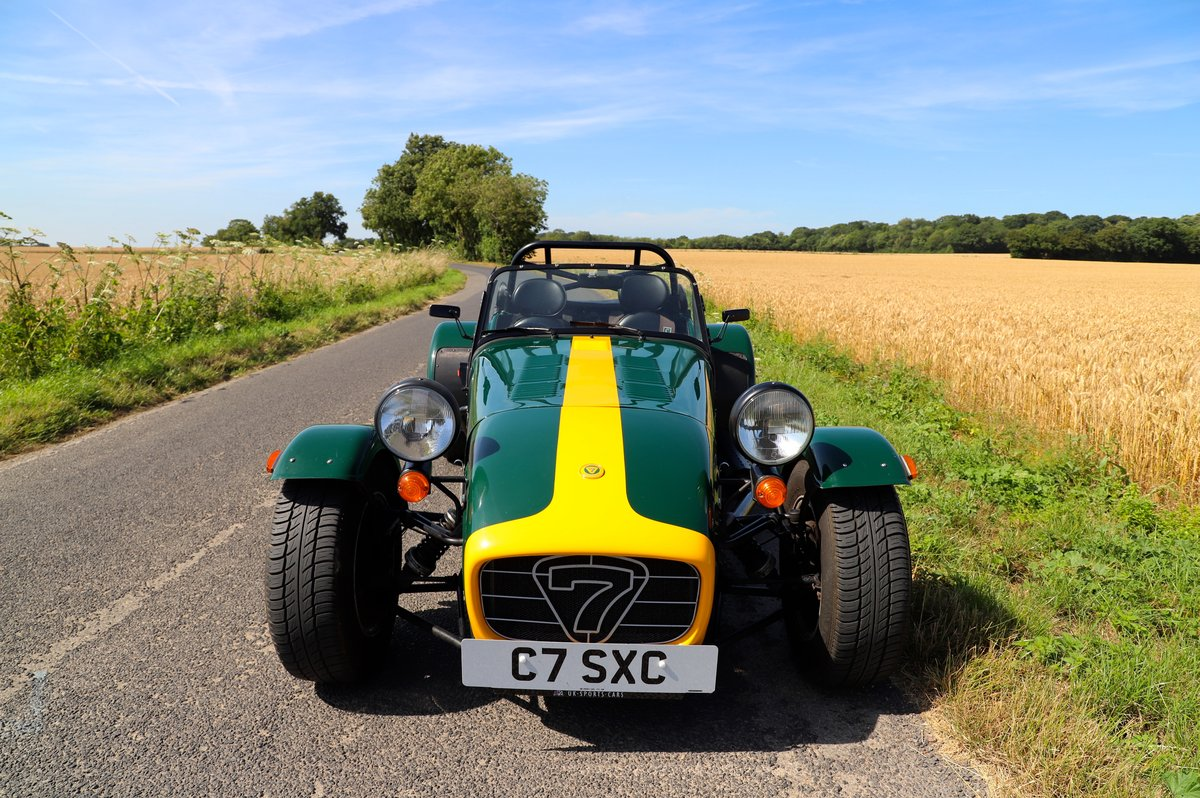 Caterham Seven 1600K Series, 5 Speed De Dion,  2004.  For Sale (picture 2 of 6)