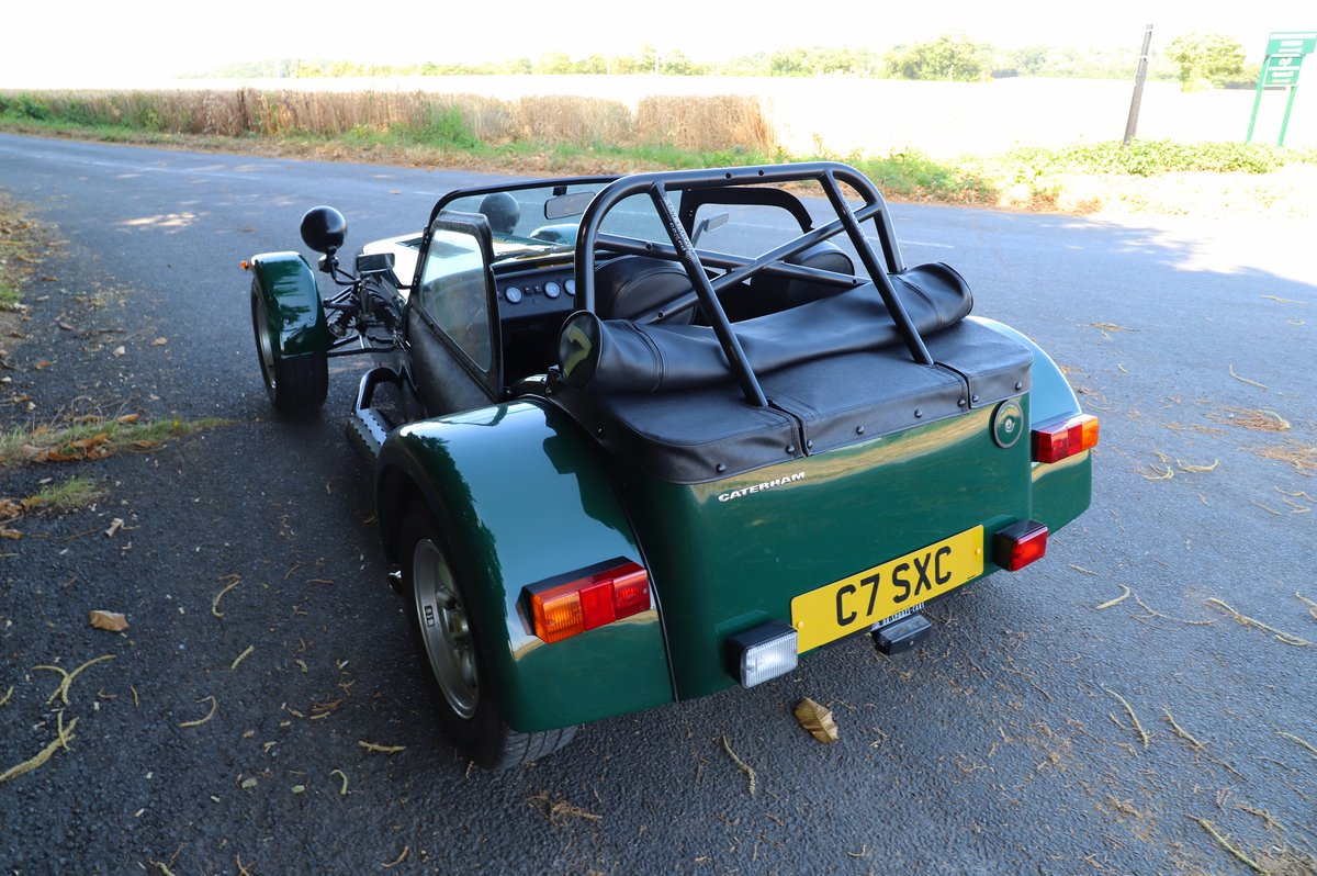Caterham Seven 1600K Series, 5 Speed De Dion,  2004.  For Sale (picture 3 of 6)