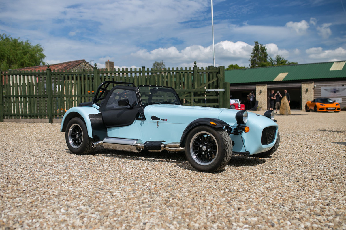 2018 NEW Caterham 420R S3 2.0, Gulf Blue For Sale (picture 1 of 6)