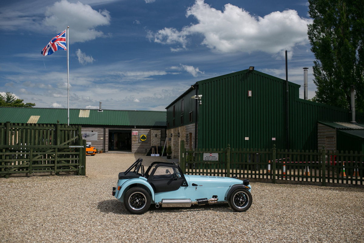 2018 NEW Caterham 420R S3 2.0, Gulf Blue For Sale (picture 3 of 6)