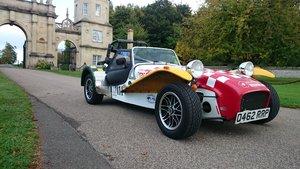Caterham Seven  (Lotus Holbay engine)