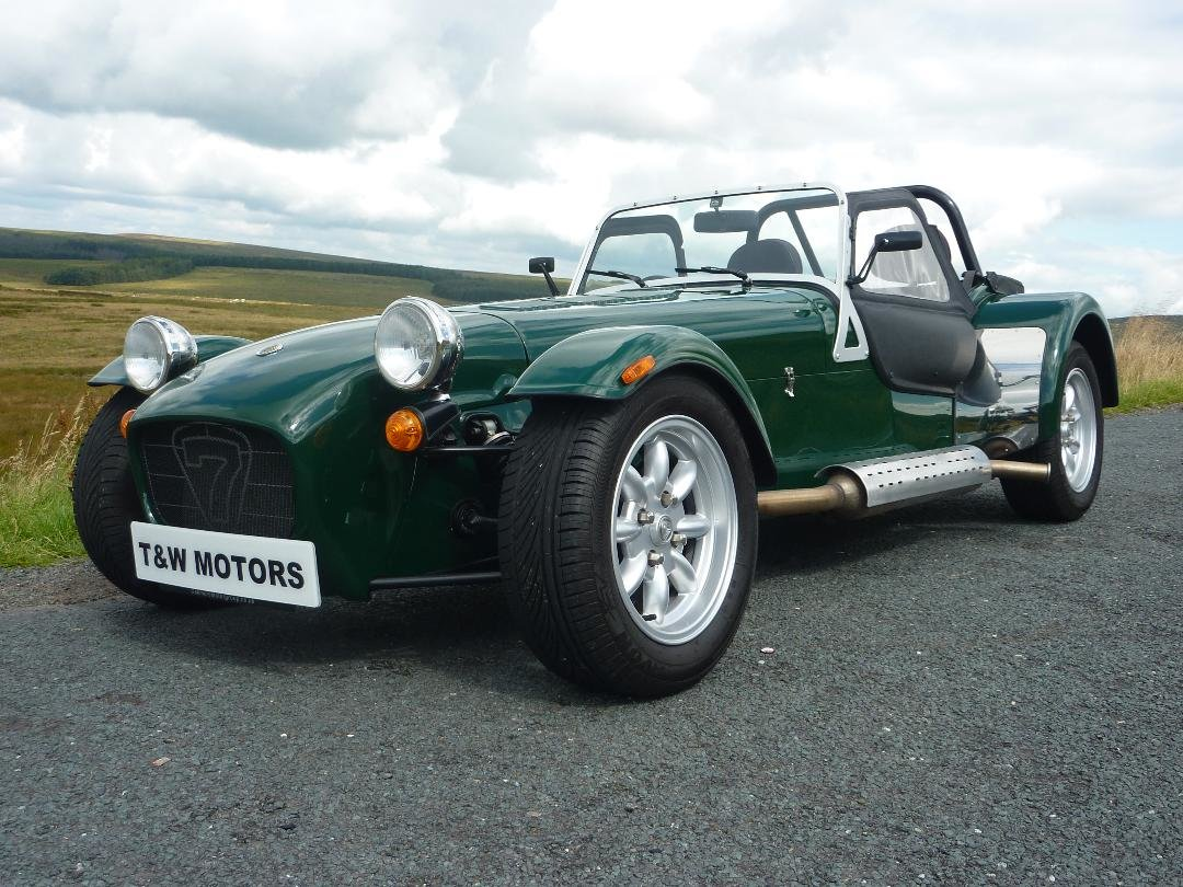 2015 Caterham Seven 1.4 BRG 5,920 miles For Sale (picture 1 of 6)