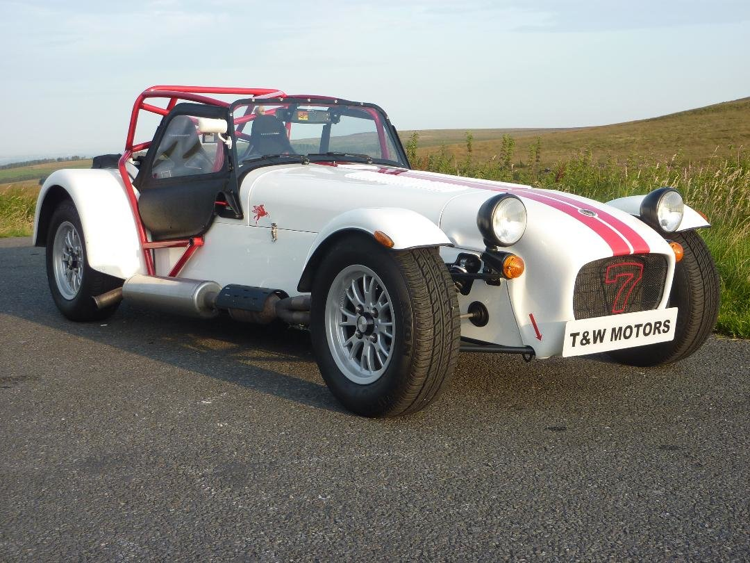2012 Caterham Seven 1.6 Sigma 4,900 miles For Sale (picture 1 of 6)