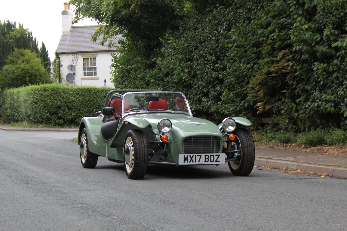 2017 Caterham Sprint 60th Anniversary Edition - 270 Miles SOLD (picture 1 of 20)