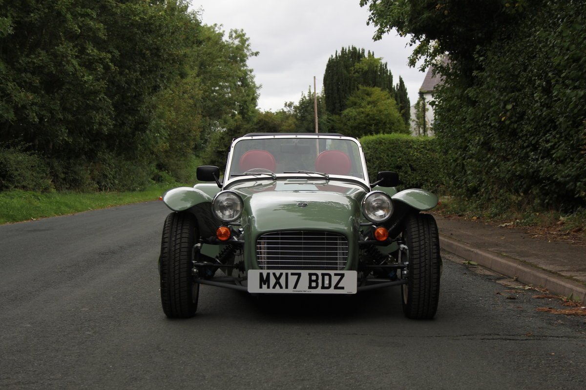 2017 Caterham Sprint 60th Anniversary Edition - 270 Miles SOLD (picture 2 of 20)