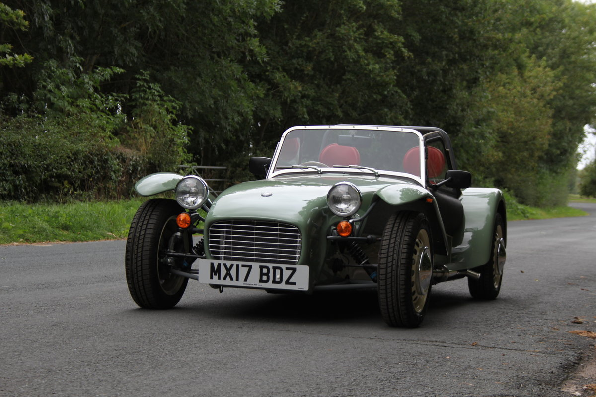 2017 Caterham Sprint 60th Anniversary Edition - 270 Miles SOLD (picture 3 of 20)