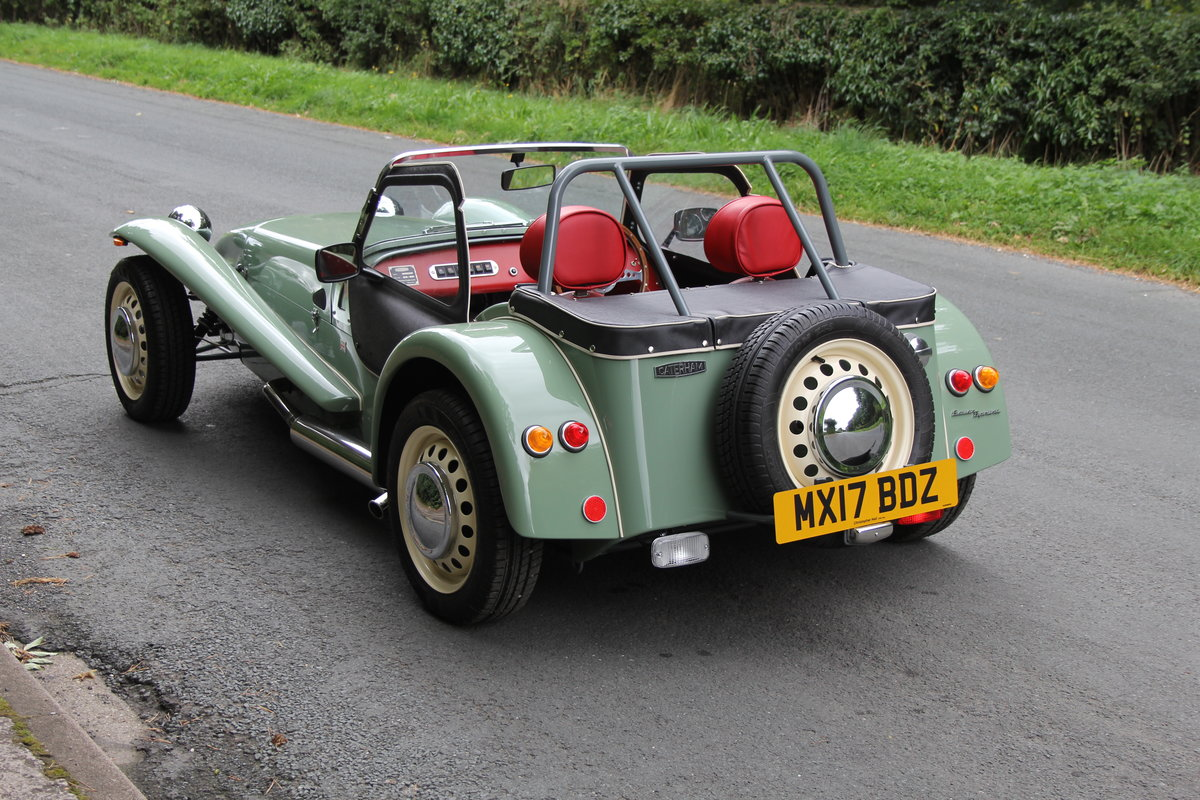 2017 Caterham Sprint 60th Anniversary Edition - 270 Miles SOLD (picture 4 of 20)