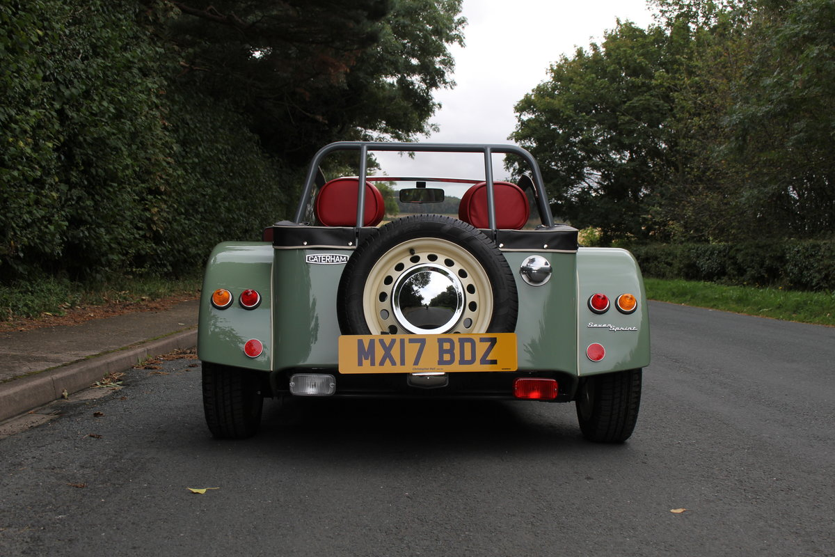 2017 Caterham Sprint 60th Anniversary Edition - 270 Miles SOLD (picture 7 of 20)