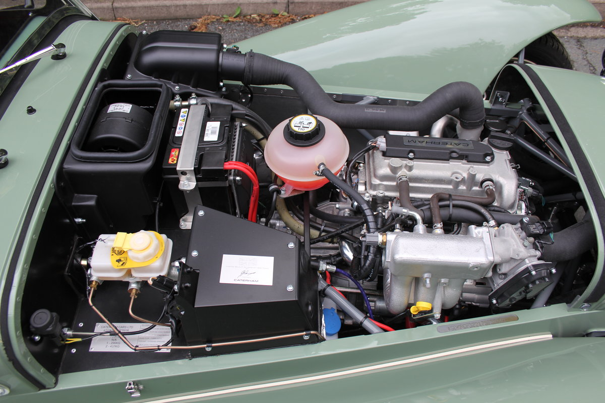 2017 Caterham Sprint 60th Anniversary Edition - 270 Miles SOLD (picture 18 of 20)