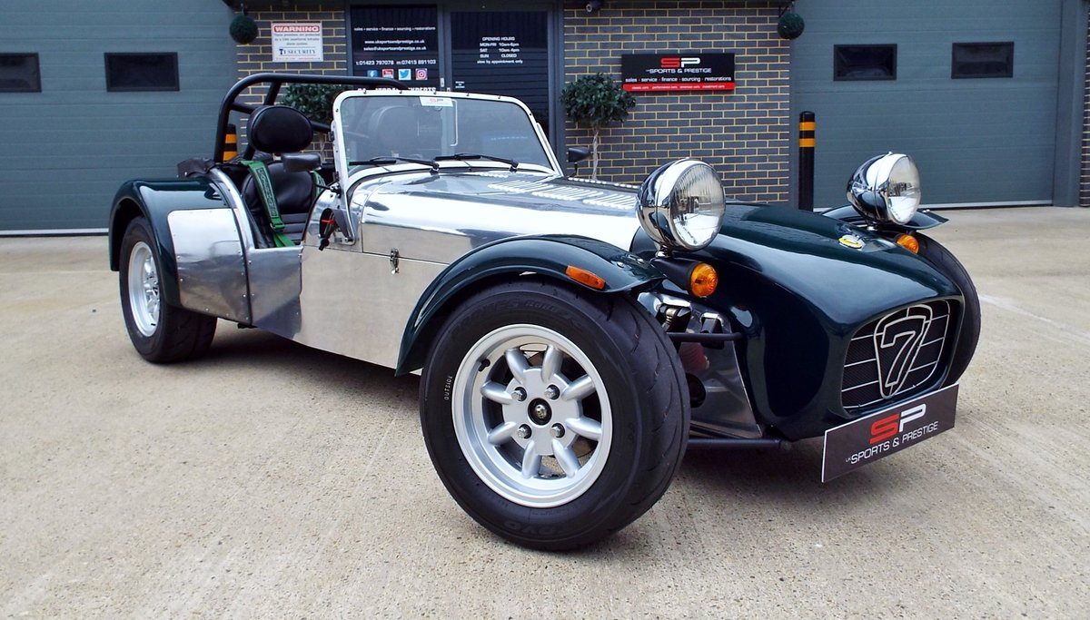 1997 Caterham Super Seven 1.6 K Series Super Sport - 6 Speed  For Sale (picture 1 of 6)