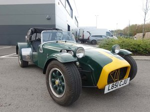 1993 Caterham 7 To be sold by auction For Sale by Auction