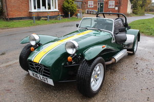 1997 CATERHAM SUPER SEVEN 1.6 ROADSPORT - HUGE SPEC, 20600 MILES