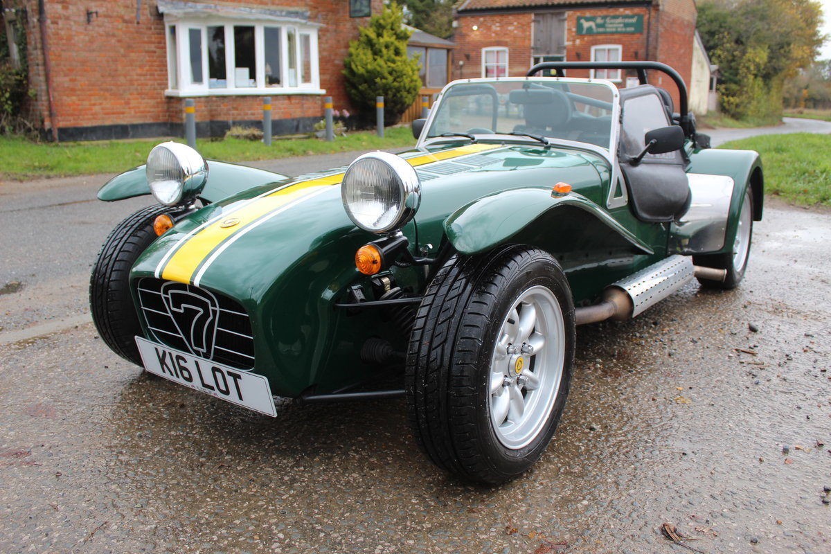 1997 CATERHAM SEVEN 1.6 ROADSPORT - HUGE SPEC, JUST 20600 MILES For Sale (picture 1 of 6)