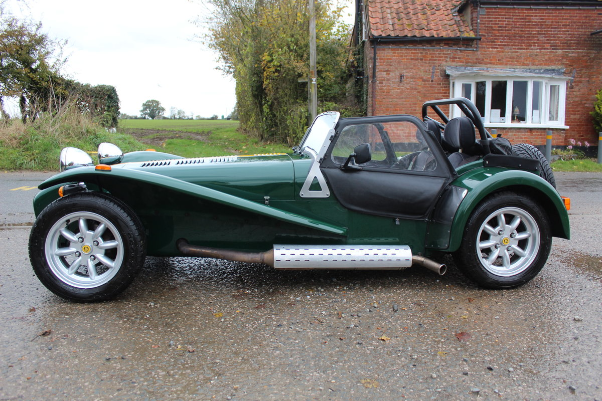1997 CATERHAM SEVEN 1.6 ROADSPORT - HUGE SPEC, JUST 20600 MILES For Sale (picture 2 of 6)
