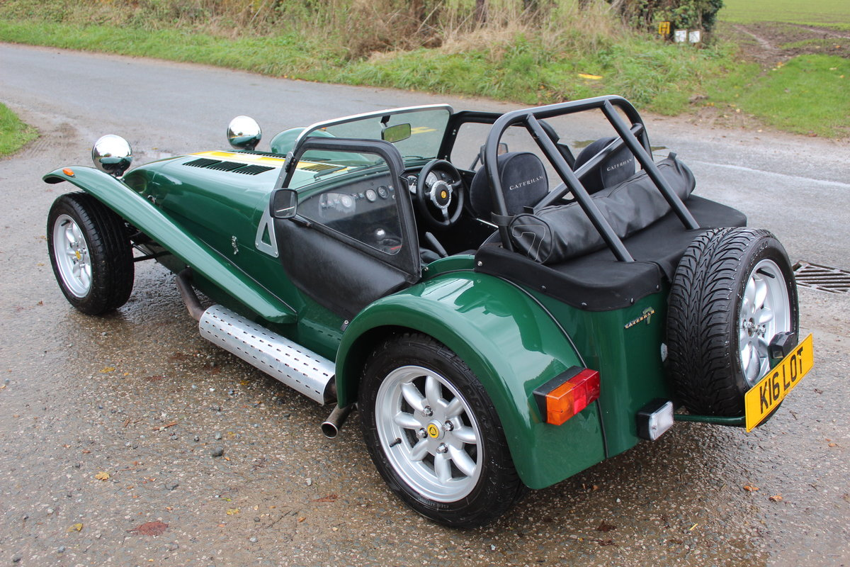 1997 CATERHAM SEVEN 1.6 ROADSPORT - HUGE SPEC, JUST 20600 MILES For Sale (picture 3 of 6)