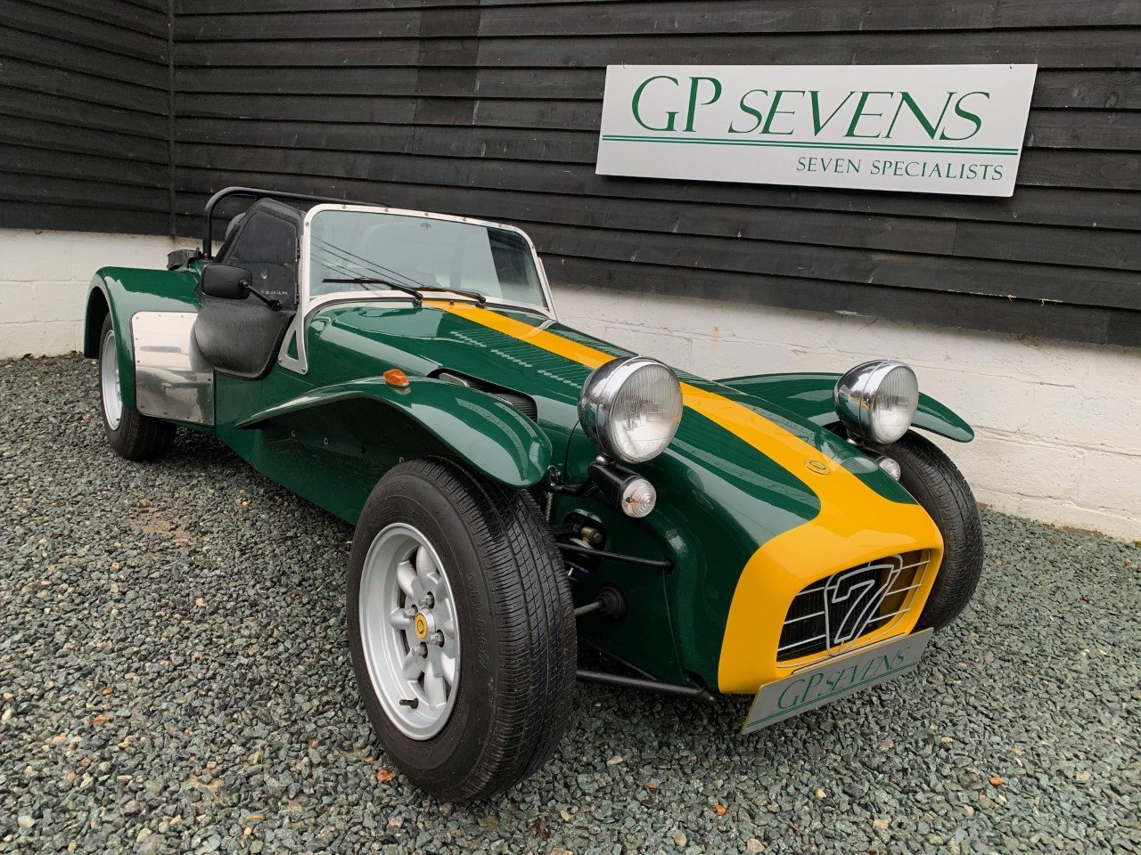 1998 Caterham Classic 1.6 VX Vauxhall 100bhp 5 speed For Sale (picture 1 of 6)